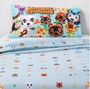 Animal Crossing Twin Sheet Set